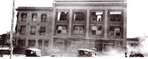 Ish-Curtis Building 1924 fire